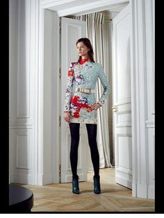 Balmain Pre-Fall 2012 Fashion Show Vogue Fashion, Fashion Show, Designs To Draw, Balmain, Christmas Sweaters, Fall, Beauty, Collection, Illustration