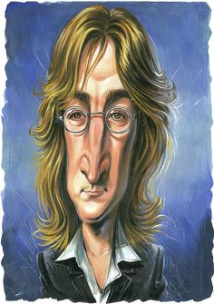 "John Lennon from one of my favs ""ART"""