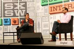 Guy Kawasaki interviewing Amit Singhal, the head of Google search.