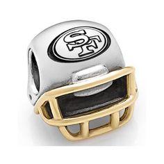 Pandora San Francisco 49ers NFL Helmet Charm