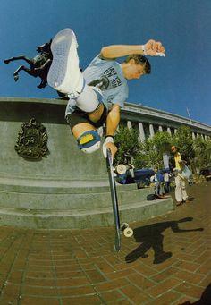 Professional skateboarder Rodney Mullen. #ItsGreatUF