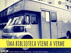 Una biblioteca viene