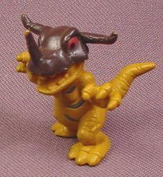 "Digimon Greymon PVC Figure, 1 5/8"" tall, 2001 Bandai"