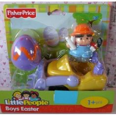 Fisher Price Little People Boys Easter Plow Truck