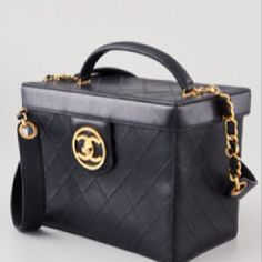 Chanel vintage train case