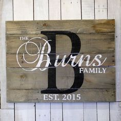 Housewarming Gift Custom Wood Name Sign Realtor Closing