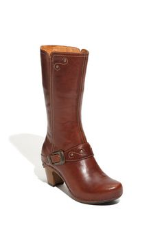 """Oh, """"Rylan"""", how many ways do I love thee? Leather upper, rugged styling and comfy right outta the box.... even for those of us with wide calves and plantar fasciitis. Now how many boots can claim that?"""