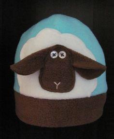 Lamb felt hat from Kuka - adorable and super warm