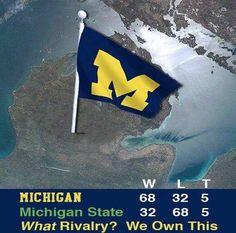 Michigan Country.. Go Blue