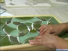How to Make a Mosaic Table Top : How to Arrange Tiles for a Mosaic Table: Pt. 2