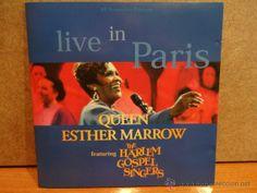 QUEEN ESTHER MARROW. LIVE IN PARIS. CD / INTERSHOW - 13 TEMAS. CALIDAD LUJO.