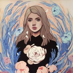 Preview: Stunning New Illustrations of Women Touched by Nature by Kelsey Beckett - Adventures of Yoo