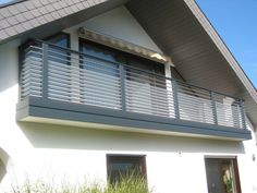 French Balcony, Smart Home, Blinds, Curtains, House, Home Decor, Home, Balconies, Homes