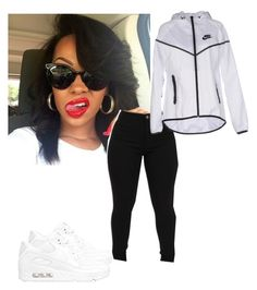 """"" by miaxo-xo ❤ liked on Polyvore featuring NIKE"