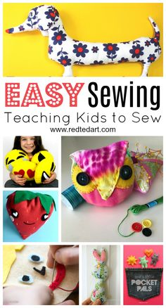 Easy Sewing Projects - Red Ted Art's Blog