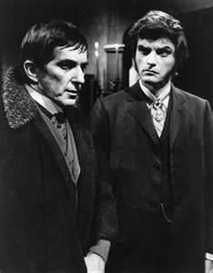 Dark Dhadows, David Selby as Quentin Collins and Jonathan Frid as Barnabas Collins