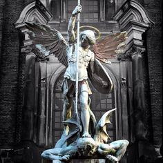 St. Michael the archangel. Joey's ink inspiration