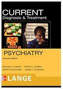 ISBN:978-0-07-142292-5  Titulo: CURRENT Diagnosis & Treatment: Psychiatry, 2e  http://accessmedicine.mhmedical.com/book.aspx?bookid=336