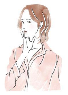 InRed イラスト掲載 ミヤモトヨシコのガールズイラスト