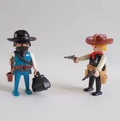 Playmobil Western Cowboy Lot Two Figures Sheriff 3381 And | Etsy Childhood Toys, Western Cowboy, Sheriff, Guns, Germany, Etsy, Playmobil, Weapons Guns, Deutsch