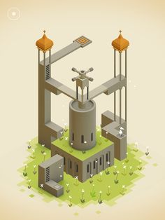 Monument Valley is an MC Escher inspired platformer for iPad that looks gorgeous