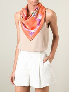 Shop Salvatore Ferragamo foulard scarf in Stefania Mode from the world's best independent boutiques at farfetch.com. Over 1000 designers from 300 boutiques in one website.