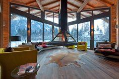 Chalet Les Praz de Chamonix, Haute-savoie #vacances #montagne #ski