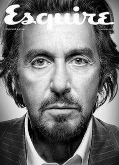 Russian Esquire Cover.  Pacino.