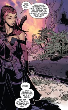 """Scarlet Witch in Doctor Strange v4 #8 - """"The Last Days of Magic III"""" (2016)"""