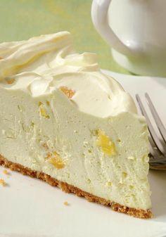 Pineapple Cheesecake - 15 Luscious No Bake Desserts