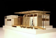 Picture 19 of 37 Gallery Social Architecture in Mexico: Community House Vivex cover. Architecture Model Making, Architecture Drawings, Interior Architecture, Bamboo Architecture, Chinese Architecture, Interior Design, Community Housing, Arch Model, Famous Architects