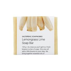 Our long-lasting soap bars are handcrafted from natural ingredients—and based on grandma's recipes. They clean, moisturize and are easy on sensitive skin. Soap Bar, Lemon Grass, Sensitive Skin, Things That Bounce, Essential Oils, Lime, How To Make, Christmas, Handmade