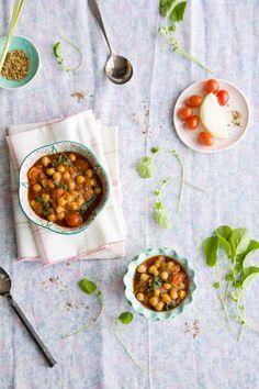 Chickpea Tamarind Stew