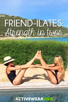 Pilates with a friend, Friend-ilates, can be more effective for your body as well as more fun for your soul than practicing alone. Learn 3 Friend-ilates positions from an experienced and enthusiastic Pilates instructor.