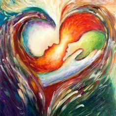 Visual Blessing: Worship Outside-the-box with Paint, Song & Dance Art Prophétique, Prophetic Art, Christian Art, Heart Art, Art Plastique, Native American Art, Oeuvre D'art, Cool Art, Art Photography