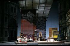 La Boheme from Teatro Regio Torino. Production by Vittorio Borrelli. Sets by Eugenio Guglielminetti.