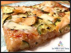 21 New Ideas Pasta Pizza Bonci Quiches, Pizza Food Truck, Focaccia Pizza, Pizza House, Zucchini, Friend Recipe, Italian Dishes, Pizza Recipes, My Favorite Food