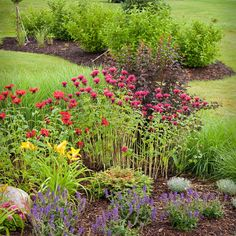 Traditional Landscape front yard landscaping Design Ideas, Pictures, Remodel and Decor