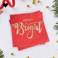 Servetten Merry and