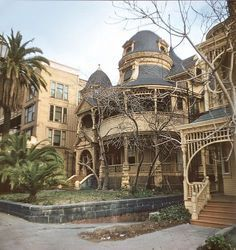 The lost mansions of downtown LA -.. Victorian mansions.
