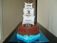 awesome pirate cake