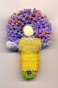 Hyacinth Morgan beaded art dolls  Bead Studio - Best Selection of Beads, Charms & Beading Supplies