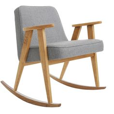 366 Rocking Chair, TWEED Grey 5 days delivery | Free delivery to EU (excl. UK) | 14 days return