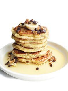 Paleo Banana Bread Pancakes - rachLmansfield