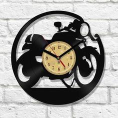 Vinyl Clock - Cafe Racer