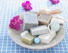 homemade soap recipes;  recipe for dead sea salt soup...