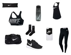 """Nike"" by abigayle-jackson on Polyvore featuring NIKE"