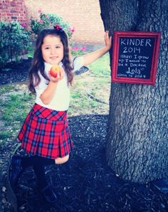 Lola's first day of kinder!!