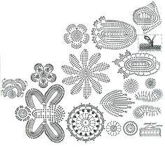 Patterns Of Flower, Leaves, and Butterflies