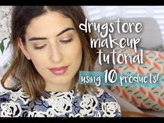 Affordable Drugstore Makeup Look | Lily Pebbles - YouTube